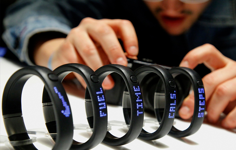 nike fuel band presentation